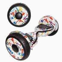 Skate Elétrico Hoverboard Foston10 4400s Led Bluetooth Bolsa -