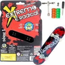 Skate Extremo E Radical Scream Com Acessórios - Dtc