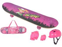Skate Infantil SKR-0031 com Acessórios  - Fenix