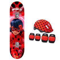 Skate Ladybug com Acessórios - Fun Divirta-se -
