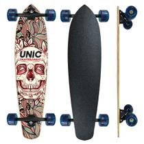 Skate Longboard completo Unic - Caveira - Unic Skateboard