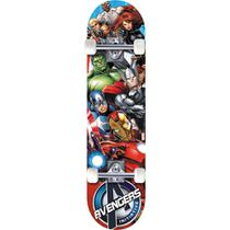 Skate Marvel Capitão América - DTC -