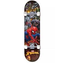 Skate Marvel Homem-Aranha com Inimigos - DTC -