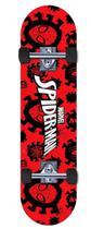 Skate Marvel Spider Man Teia Vermelho - DTC -