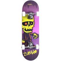 Skate Radical Iniciante Zombie Skateboard Shape 80x19 Bel Sports - 401900 - Bel Fix