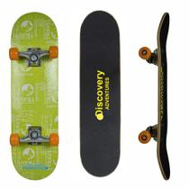 Skate Semi Profissional Verde Discovery Adventures Yins