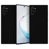 Skin Adesiva p/ Galaxy Note 10 Plus Couro Preto - Viper Decals