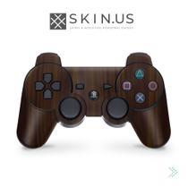 Skin Adesivo - Brown Wood  Manete PS3 - Playstation 3 -