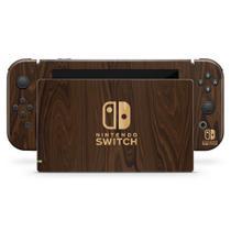Skin Adesivo para Nintendo Switch - Madeira - Pop Arte Skins