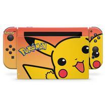 Skin Adesivo para Nintendo Switch - Pokémon: Pikachu - Pop Arte Skins