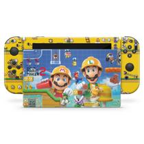 Skin Adesivo para Nintendo Switch - Super Mario Maker 2 - Pop Arte Skins