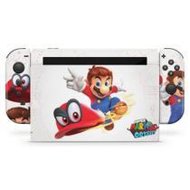 Skin Adesivo para Nintendo Switch - Super Mario Odyssey - Pop Arte Skins