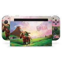 Skin Adesivo para Nintendo Switch - Zelda Ocarina Of Time - Pop Arte Skins