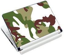 """Skin Adesivo para Notebook Verde Camuflado - Até 17"""" - Bright"""