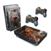 Skin Adesivo para PS2 Fat - God Of War 2 II - Pop Arte  Skins