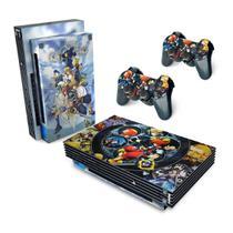 Skin Adesivo para PS2 Fat - Kingdom Hearts II 2 - Pop Arte  Skins
