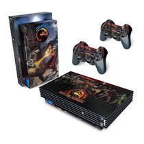 Skin Adesivo para PS2 Fat - Mortal Kombat - Pop Arte Skins