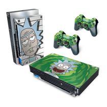 Skin Adesivo para PS2 Fat - Rick And Morty - Pop Arte Skins