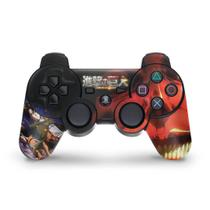 Skin Adesivo para PS3 Controle - Attack On Titan b - Pop Arte Skins