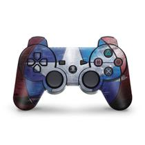 Skin Adesivo para PS3 Controle - Capitão América - Pop Arte Skins