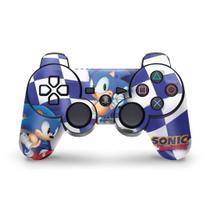 Skin Adesivo para PS3 Controle - Sonic Hedgehog - Pop Arte Skins