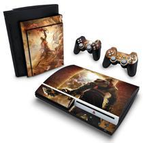 Skin Adesivo para PS3 Fat - God Of War 2 - Pop Arte Skins
