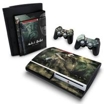 Skin Adesivo para PS3 Fat - Metal Gear Solid 4 - Pop Arte Skins