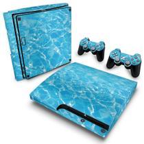 Skin Adesivo para PS3 Slim - Aquático Água - Pop Arte  Skins