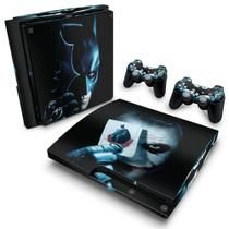 Skin Adesivo para PS3 Slim - Batman Dark Knight - Pop Arte  Skins