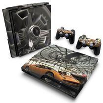 Skin Adesivo para PS3 Slim - Gran Turismo B - Pop Arte Skins