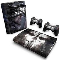 Skin Adesivo para PS3 Super Slim - Call Of Duty Ghosts - Pop Arte  Skins
