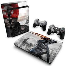 Skin Adesivo para PS3 Super Slim - Modelo 088 - Pop Arte  Skins