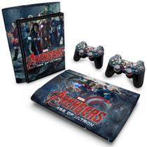 Skin Adesivo para PS3 Super Slim - Vingadores 2: A Era De Ultron - Pop Arte  Skins