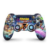 Skin Adesivo para PS4 Controle - Crash Bandicoot 4 - Pop Arte Skins