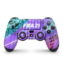Skin Adesivo para PS4 Controle - FIFA 21 - Pop Arte Skins