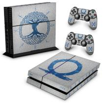 Skin Adesivo para PS4 Fat - God of War Ragnarok - Pop Arte Skins