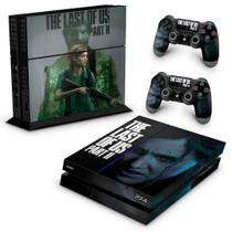 Skin Adesivo para PS4 Fat - The Last Of Us Part 2 II B - Pop Arte Skins
