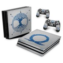 Skin Adesivo para PS4 Pro - God of War Ragnarok - Pop Arte Skins