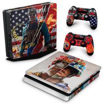 Skin Adesivo para PS4 Slim - Call Of Duty Cold War - Pop Arte Skins