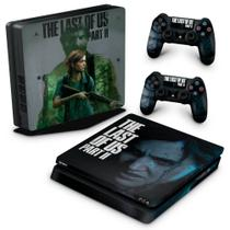Skin Adesivo para PS4 Slim - The Last Of Us Part 2 Ii B - Pop Arte Skins