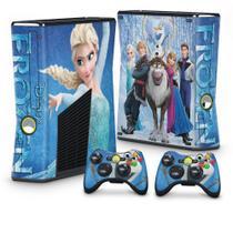 Skin Adesivo para Xbox 360 Slim - Frozen - Pop Arte  Skins
