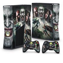 Skin Adesivo para Xbox 360 Slim - Injustice - Pop Arte  Skins