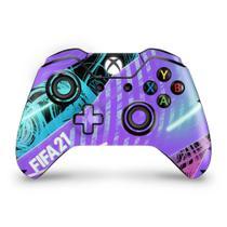 Skin Adesivo para Xbox One Fat Controle - FIFA 21 - Pop Arte Skins