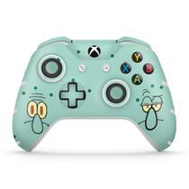 Skin Adesivo para Xbox One Slim X Controle - Lula Molusco Bob Esponja - Pop Arte  Skins