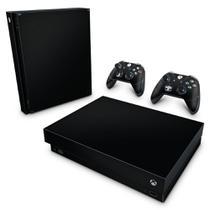 Skin Adesivo para Xbox One X - Preto Black Piano - Pop Arte Skins