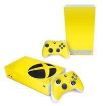 Skin Adesivo para Xbox Series S - Amarelo - Pop Arte Skins