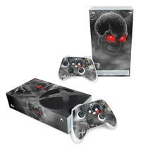 Skin Adesivo para Xbox Series S - Caveira Skull - Pop Arte Skins
