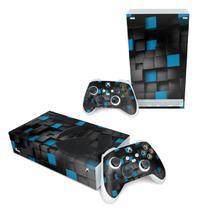 Skin Adesivo para Xbox Series S - Cubos - Pop Arte Skins