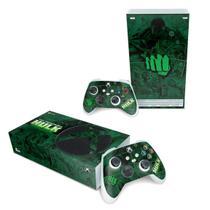 Skin Adesivo para Xbox Series S - Hulk Comics - Pop Arte Skins