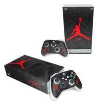 Skin Adesivo para Xbox Series S - Jordan Flight - Pop Arte Skins